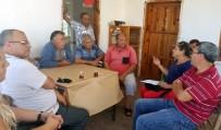 DOLU YAĞIŞI - Mersin Büyükşehir Belediyesi Teknik Elemanlarından Çiftçilere Ziyaret