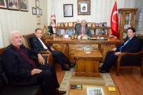 CENGIZ AYDOĞDU - Milletvekili Aydoğdu Ve Başkan Yazgı'dan Odalar Birliğine Ziyaret