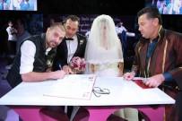 NEJAT İŞLER - Nejat İşler Bodrum'da Nikah Şahitliği Yaptı