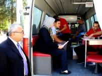 HÜKÜMET KONAĞI - Sarıgöl'de Kızılay 104 Ünite Kan Toplandı