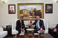 ŞANLIURFA VALİSİ - SGK Başkanı Bağlı'dan Vali Tuna'ya Ziyaret