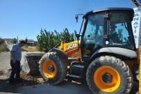 HAMIT NIŞANCı - 'Tapulu Malım' Diyerek Onlarca Aracın Geçtiği Sanayi Yolunu Kapattı