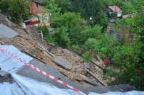 ALI KABAN - Zonguldak'ta Meydana Gelen Heyelanda Bir Ev Toprak Altında Kaldı