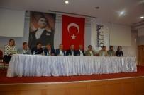 TİCARET ODASI - AK Parti Aydın Milletvekilleri KUTO'da Turizmcilerle Buluştu