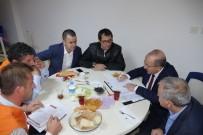 YOL HARITASı - Başkan Gümrükçüoğlu Beşikdüzü'ndeki Çalışmaları Yerinde İnceliyor