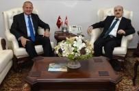 ZÜLKIF DAĞLı - Başkan Keleş'ten Valiye Hayırlı Olsun Ziyareti