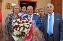 TRAFİK SORUNU - Başkan Kocamaz, Emeklilerle Buluştu