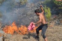 ORMAN İŞLETME MÜDÜRÜ - Bozyazı'da Çıkan Orman Yangını Korkuttu