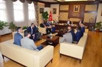 BULGARISTAN - Bulgaristan Dost Partisi'nden Başkan Çetin'e Ziyaret