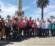 BULGARISTAN - FETÖ'ye Tepki İçin Almanya'dan İzmir'e Pedal Çevirdi
