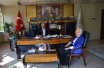 İL MİLLİ EĞİTİM MÜDÜRÜ - İl Milli Eğitim Müdürü Durmuş'tan Bayırköy Belde Belediye Başkanı Yaman'a Ziyaret