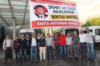 YOLCU TAŞIMACILIĞI - Kahta'daki Şehit Ailelerine Ücretsiz Ulaşım