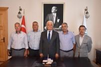 YOL ÇALIŞMASI - Köyceğiz Muhtarlarından Başkan Gürün'e Teşekkür Ziyareti