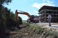 YAĞMUR SUYU - Lapseki'de Dere Islah Çalışmaları