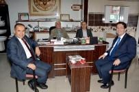 CENGIZ AYDOĞDU - Milletvekili Aydoğdu Ve Başkan Yazgı'dan Esnaf Ziyareti