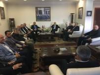 İŞADAMLARI - MÜSİAD'dan Vali Zülkif Dağlı'ya Hayırlı Olsun Ziyareti