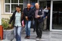 OTOBÜS DURAĞI - Otomobilden Hırsızlık Zanlıları Yakalandı