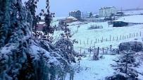 DOĞU KARADENIZ - Ovit Dağı Geçici Kar Nedeniyle Kapandı