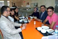 TıP FAKÜLTESI - Rektör Yardımcısı Akpolat Öğrenci Yemekhanelerini Gezdi
