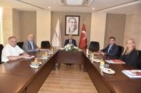 TİCARET ODASI - Teknopark Yönetim Kurulu, Vali Çakacak'ın Başkanlığında Toplandı
