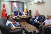 BASIN KARTI - TGF Genel Başkanı Yılmaz Karaca, OGC'yi Ziyaret Etti