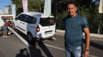 YıLDıZLı - Antalya'da Taksicilerin Kontak Kapatma Eylemi