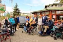 TÜRKIYE SAKATLAR DERNEĞI - Bağış İçin Almanya'dan Gelen Engelli Minibüsüne Yasal Engel