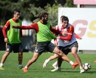 FLORYA - Galatasaray Antalya Maçı Hazırlıklarına Başladı