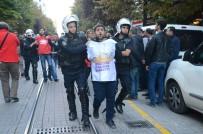 YUNUS EMRE - İzinsiz Gösteriye Polis Müdahalesi Açıklaması 20 Gözaltı