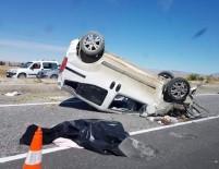 AĞIR YARALI - Kayseri'de Trafik Kazası Açıklaması 1 Ölü