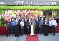YÜREĞIR BELEDIYE BAŞKANı - Köprülü Çelik Kapı Adana Showroomu Açıldı