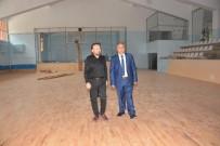 OKUL MÜDÜRÜ - Sanat Okulu Spor Salonununa FİBA Ayarı