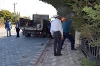 EDREMIT BELEDIYESI - 800 Bin Liralık Lüks Dublekslerin İstinat Duvarları Kaçak Çıktı
