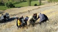 DİREKSİYON - Aşkale'de Trafik Kazası Açıklaması 9 Yaralı