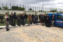 KAÇAK GÖÇMEN - Bulgaristan'a Geçmeye Çalışan 106 Kişi Yakalandı