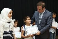 YABANCI KADIN - Canik'ten Yabancı Çocuklara Türkçe Belgesi