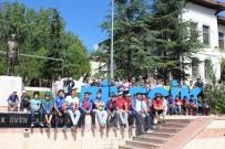 ATATÜRK BULVARI - Çevreci Ve Sağlıklı Bir Ulaşım İçin Pedal Çevirdiler