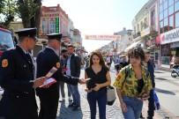 GÖBEL - İtfaiye Haftası'nda Edirne Halkı Bilgilendirildi