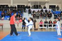 TEKVANDO - Karaman'da Üçüncü Dönem Tekvando Kuşak Sınavı Yapıldı
