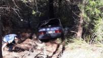 DİREKSİYON - Köyceğiz'de Otomobil Şarampole Devrildi; 4 Yaralı
