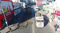 ŞEHİR İÇİ - Nevşehir'de Sıcak Asfalt Uygulaması Alt Yapı Çalışmaları Başladı