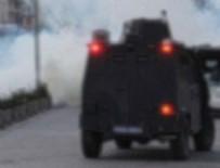 PKK - Polis aracına roketli saldırı