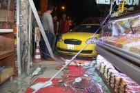 DİREKSİYON - Ticari Taksi Kaldırıma Çıktı Açıklaması 6 Yaralı