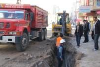 NEVŞEHİR BELEDİYESİ - Atatürk Bulvarında Alt Yapı Çalışmaları Devam Ediyor