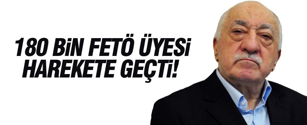 Bakan Canikli: 180 bin FETÖ üyesi harekete geçti