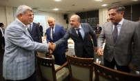 SAYIŞTAY - Başkan Karaosmanoğlu'ndan, Okumuş Ve Aydınlık'a Veda Yemeği