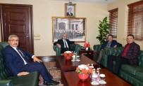 MAHMUT DEMIRTAŞ - Başkan Tiryaki'den, Vali Demirtaş'a Ziyaret