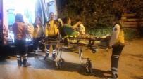 YÜKSELEN - Başkent'te Gecekondu Yangını Açıklaması 2 Yaralı