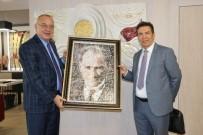BELEDİYE BAŞKANLIĞI - Bayraktar'dan Başkan Ergün'e Taziye Ziyareti