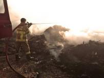 ALTıNOLUK - Çöplükte Çıkan Yangın Korkuya Neden Oldu